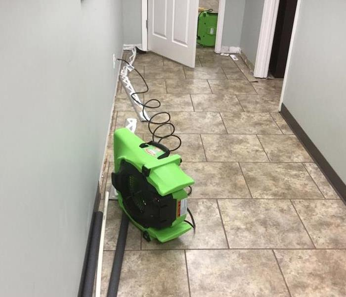 How to clean up my business after water damage? After