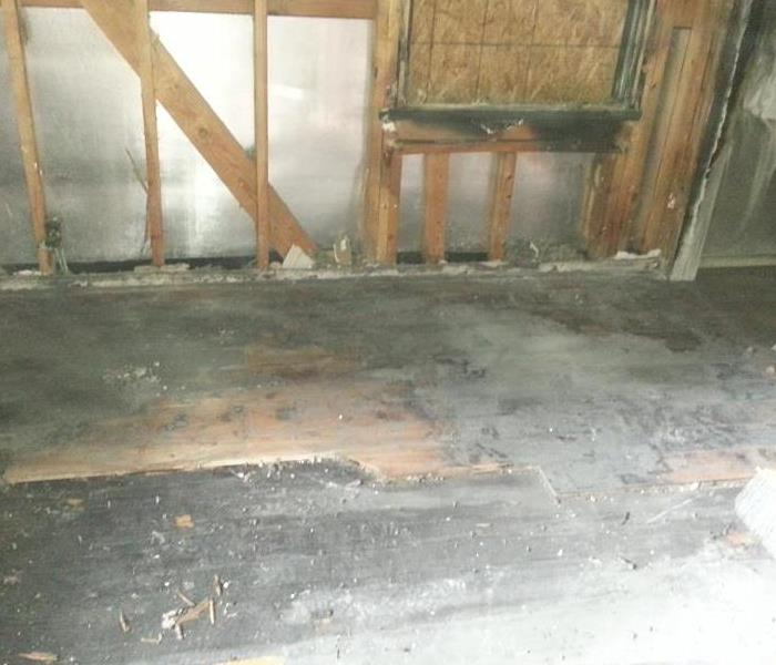 How can SERVPRO help cleanup after a fire? Before