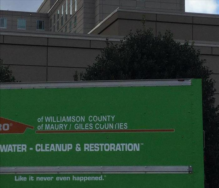 Commercial Restoring Your Williamson County Commercial Property After A Water Damage Event